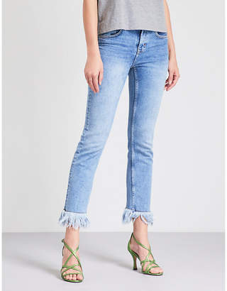 Maje Panakou stretch-denim jeans