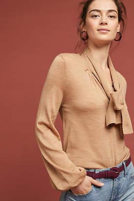 Moulinette Soeurs Rhinebeck Tie-Neck Pullover