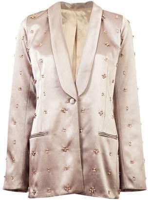 Koché embellished fitted blazer