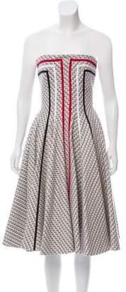 Thom Browne Tweed Mini Dress