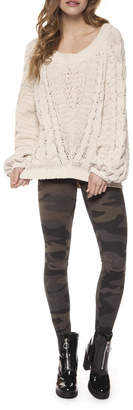 Dex Chenille Cable-Knit Sweater