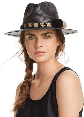 Helene Berman Fedora Paper Hat