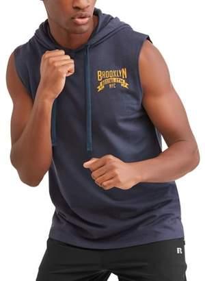 Pop Culture Big Men's Brooklyn Boxing Sleeveless Hoodie, 2XL