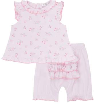 Kissy Kissy Summer Cheer Floral Two-Piece Set