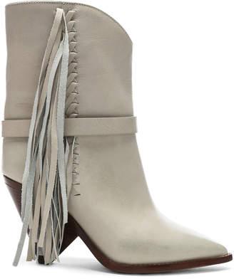 Isabel Marant Leather Loffen Boots