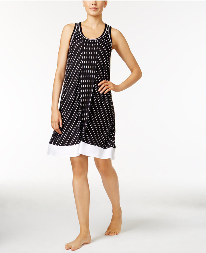 DKNY DKNY Printed Knit Nightgown, A Macy's Exclusive Style