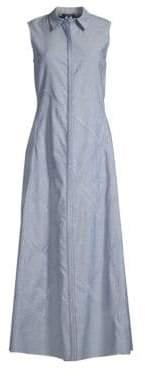 Lafayette 148 New York Ryden Sleeveless Shirt Dress