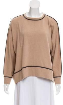 Brunello Cucinelli Cashmere Long-Sleeve Sweater