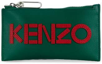 Kenzo logo cardholder with coin pocket
