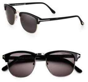 Tom Ford 53MM Henry Retro Sunglasses