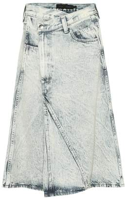 Proenza Schouler Denim midi skirt