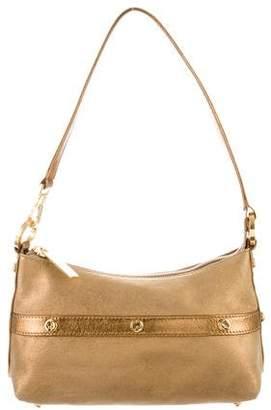 St. John Metallic Shoulder Bag