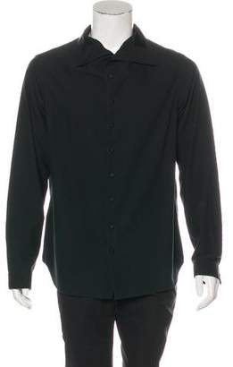 Ann Demeulemeester Mock Neck Casual Shirt