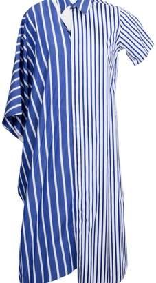 Facetasm Asymmetric Shirt Dress