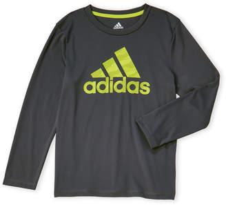 976f497b adidas Boys 4-7) Tech Long Sleeve Tee