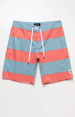 "Brixton Barge 19"" Allover Stripes Boardshorts"