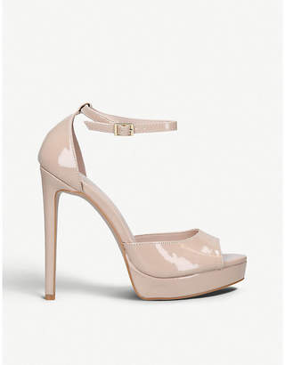 Carvela Lopez patent faux-leather stiletto sandals