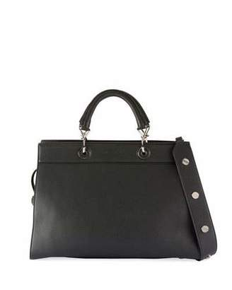 Altuzarra Small Shadow Leather Tote Bag