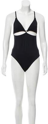 Alexander Wang Cutout One-Piece Bathing Suit w/ Tags