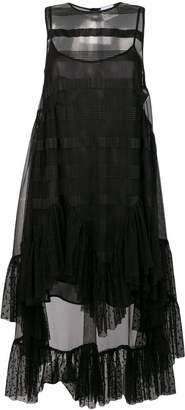 Ainea high-low hem dress