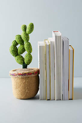 Anthropologie Succulent Bookend