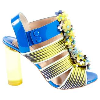 Peter Pilotto Blue Patent leather Heels