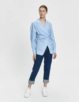Shaina Mote Hira Top in Cornflower Blue
