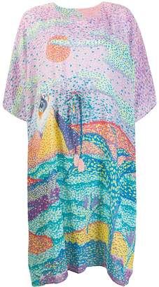 Tsumori Chisato Painting print T-shirt dress