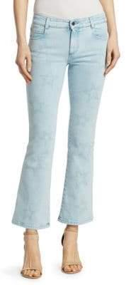 Stella McCartney The Skinny Light Wash Flare Jeans