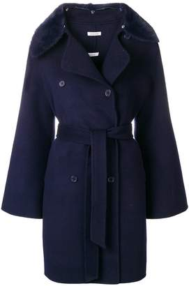 P.A.R.O.S.H. double-breasted belted coat