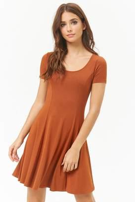 Forever 21 Slub Knit Skater Dress