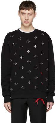 Diesel Black S-Eyelets Sweatshirt