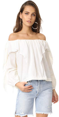 One Teaspoon Mayday Mayday Top $189 thestylecure.com
