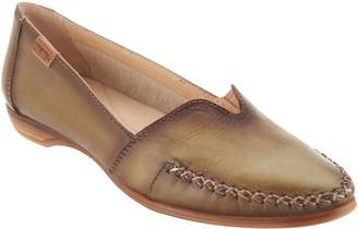 PIKOLINOS Leather Pointed Toe Loafers - Bari