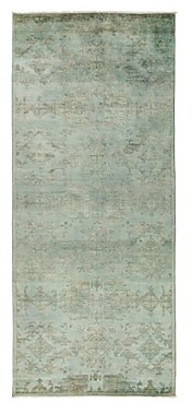Vibrance Overdyed Area Rug, 5'3 x 12'1