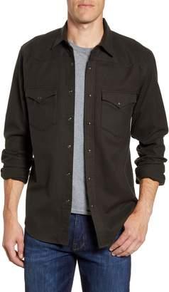 Filson Regular Fit Flannel Button-Up Western Shirt