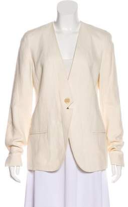 J Brand Casual Collarless Blazer