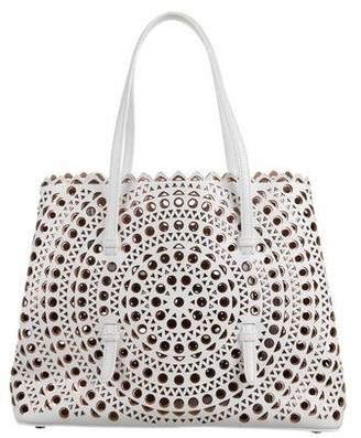 Alaia New Vienne Mini Shopping Tote