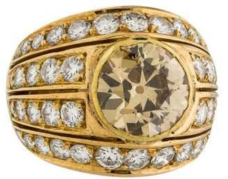 Ring Old European Diamond Cocktail