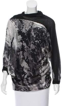 Yigal Azrouel Layered Silk Top w/ Tags