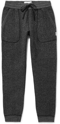Reigning Champ Slim-Fit Tapered Fleece-Back Mélange Cotton-Blend Jersey Sweatpants