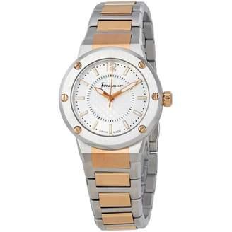 Salvatore Ferragamo Silver Steel Watches