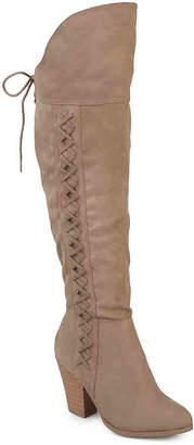 Journee Collection Spritz Wide Calf Over The Knee Boot - Women's
