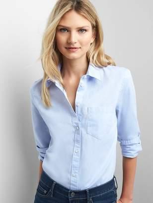 Gap New fitted boyfriend oxford shirt