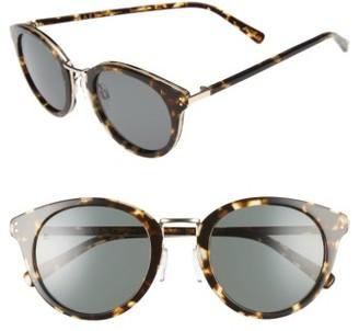 Women's Raen Potrero 50Mm Sunglasses - Brindle Tortoise $165 thestylecure.com