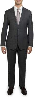 English Laundry Check Wool Suit