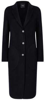 Theory Wool-Cashmere Coat