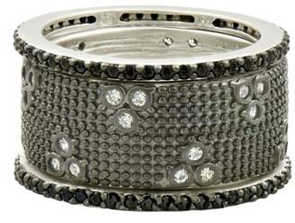Freida Rothman FREDIA ROTHMAN Industrial Finish Set of 3 Stackable Rings