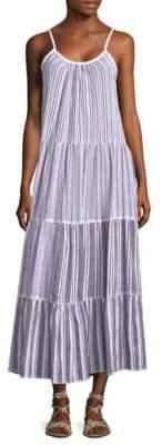 Lemlem Alfie Tiered Maxi Slip Dress