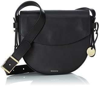 Skagen Lisabet, Women's Cross-Body Bag, Schwarz (), (B x H T)